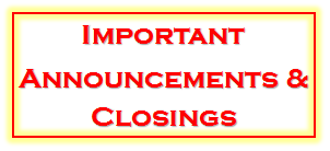 announcements-and-closings